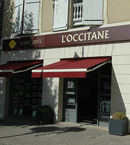 Graphics site L'Occitane Immobilier